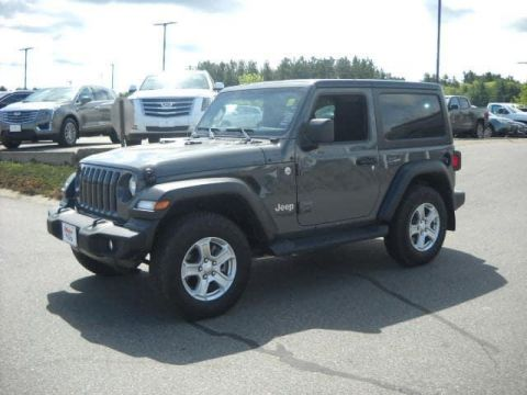 Pre-Owned 2018 Jeep Wrangler Sport S